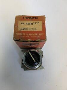Cutler-Hammer 10250T1332 Operator Switch