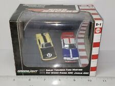 1/64 GREENLIGHT 1967 SHELBY TERLINGUA FORD MUSTANG 1972 ROY WOOD AMC JAVELIN AMX