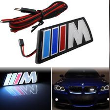 Griglia ANTERIORE BMW Emblema Auto LED M Performance retroilluminato logo caratteri DRL