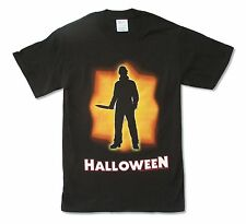 Halloween Shape of Things to Come Black T Shirt Small New Official Horror Movie