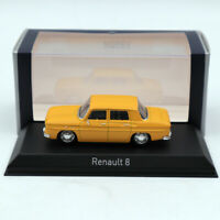 NOREV 1/43 Renault 8 Yellow DIECASET Model Limited Edition Collection