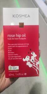 Qty Kosmea 100% Certified Organic Rose Hip Oil 42ml Made in Australia