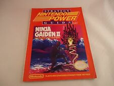 Official Nintendo Power Ninja Gaiden 2 II  Strategy Guide Cheat Hint Book NES