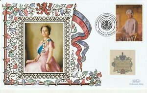 MALDIVES 2007 QUEEN MOTHER 5th ANNIVERSARY OF HER DEATH BENHAM COVER c