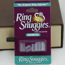 Ring Snuggies Rings Guard  Adjuster Six Pack  Made USA 6 PVC 3 small +3 med