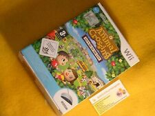 ANIMAL CROSSING LET'S GO TO THE CITY Wii SPEAK NINTENDO PAL EURO NEW SEALED LOOK