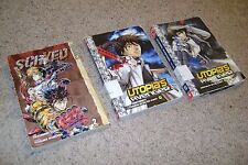 Manga Lot Utopia's Avenger Volumes 4 & 5, Scryed Volume 2 Ex-Library TokyoPop