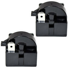 Pack of 2 qp2-4r7 4.7 ohm 3 teeth ptc start relay for sunbeam sbcr 033b1w