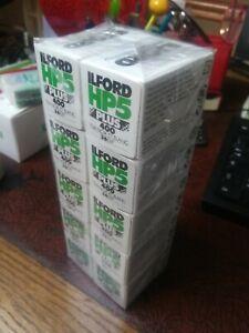 Ilford HP5  Plus 400 ISO Black & White 120 Camera film 10x rullino fotografico