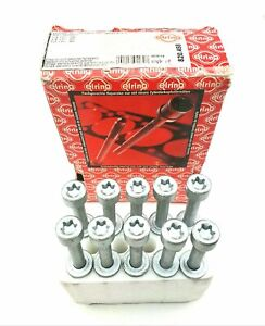 10x Elring 820.458 Cylinder Head Bolts for Vauxhall Astra, Kadett, Omega, Vectra