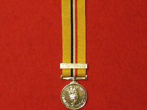 Miniature Operation Telic Iraq Medal with Clasp in Mint Condition
