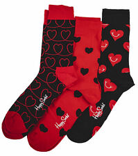 HAPPY SOCKS 87419PP01 4300 Rosso i love you gift Calzini Unisex Abbigliamento