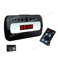 Wireless Security Camera Alarm Clock System Nanny Cam 1080P HD  (No SPY Hidden