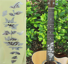Guitar Inlay Stickers Flower Decals
