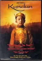 Kundun  -DVD  BRAND NEW true story Tibet's Dali Lama