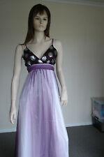Low Cut-Empire Waist-Paillette Evening/Special Occasion Dress BNWT Size 14