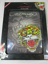 Ed Hardy IPad Cover Hard Case Limited Edition IP10A01 Charcoal Opened never used