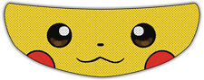 Pikachu Helmet Visor Sticker Motorcycle Biker Pokemon Shield Decal Tint Eyes NEW