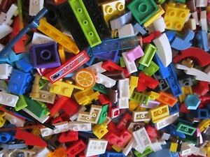 OVER ONE HUNDRED LEGO Coloured Small Pieces - A very good Mix of handy bricks