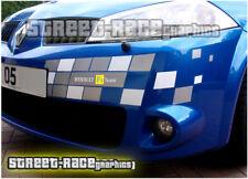 Renault Megane F1 Team Stickers Calcomanías Gráficos MK3