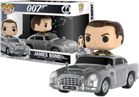James Bond - Sean Connery in Aston Martin Funko Pop Vinyl New in Box