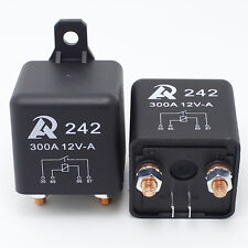 2 pcs - Heavy Duty 12VDC relay 300A Automotive Car boat storage battery Switch