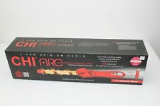 "CHI Arc 3/4"" Automatic Rotating Barrel Curling Iron Wand Dual Voltage NEW"