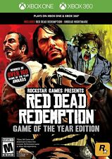 Red Dead Redemption GAME OF YEAR W/ UNDEAD NIGHTMARE! WORKS W/ XBOX ONE! OUTLAW