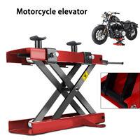 1100lb Motorbike Lift Bench Stand 500KG Motorcycle Scissor Lift ATV Jack Stand