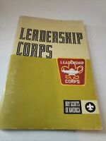 1973 VINTAGE  BOY SCOUT BOOK - LEADERSHIP CORPS
