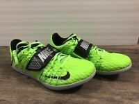 Nike Zoom Triple Jump Elite Track and Field Shoes Men's Size 9.5 Electric Green