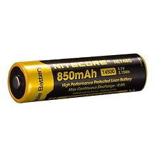 NITECORE Nl1485 14500 850mah 3.7v Rechargeable Protected Li-ion Battery