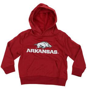 NCAA Kids Arkansas Razorbacks Performance Hoodie, Red