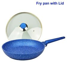 Non stick Frypan with Lid, Fry pan, Frying pan, Bluestone cookware Induction