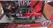 M2 MACHINES AUTO - JAPAN 1970 DATSUN 510 ADVAN YOKOHAMA 1:24