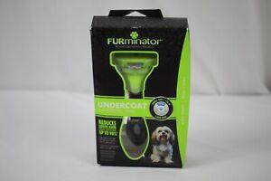 Furminator DeShedding Brush Removes Loose Hair Small Dog Long Hair 9244