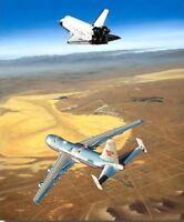Free Enterprise [Space Shuttle] PRINT Signed Joe Engle; Fitz Fulton; Mike Machat