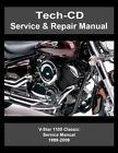 Yamaha V-Star 1100 Classic Service & Repair Manual VStar XVS1100 XVS11 1999-2009