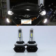 2x 50W 881 LED Fog Light DRL Lamp Bulb Ultra White High Power For  Hyundai Kia