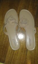 DIANA FERRARI SUPER SOFT  SLIP ON SANDALS MOCCA ROSE BRAND NEW SIZE 10