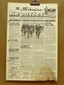 Vintage Schwinn Reporter Bicycle Dealer Newsletter May 1964 Bendix RB2 Brake