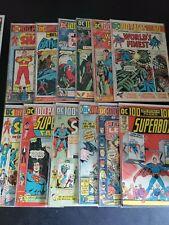 12 DC Bronze 100-Page Spectacular Comic Lot - Batman, Justice League, Superman