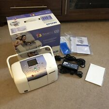 Epson Picture Mate 100 Personal Photo Lab - With Paper - Working