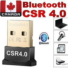 USB 4.0 Wireless Bluetooth Adapter Dongle CSR Use for PC,Linux,Printers,Laptop