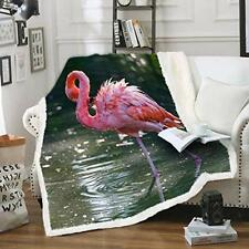 Lutty Blankets and Throws Suitable for Twin Fleece Flamingo Throw Blanket for.