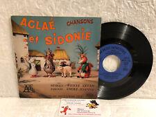 45T Chansons Feuilleton Télé Aglaé et Sidonie Arvay Joanny LP Ades ORTF 68 PM908