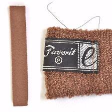 vintage années 60 / 70 Tricoté Cravate marron Skinny MOD SCOOTER 60 carré