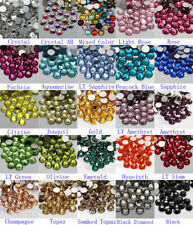 1440pcs Gava Flat back Rhinestones SS6~SS10 Multiple Colors for Nail Art Crystal