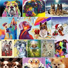 Puppy Full Drill Diy 5D Diamond Painting Cross Stitch Kits Mosaic Decor Art Dog