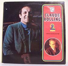 2 x 33T Claude BOLLING Piano Vinyl LP ORIGINAL BOOGIE & RAGTIME -PHILIPS 6641142